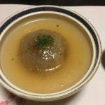 岸和田・割烹大正さんのお料理、蓮根饅頭