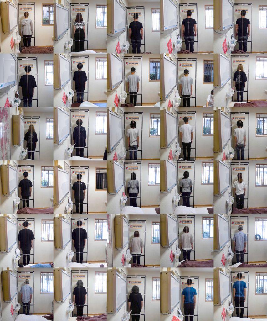 貝塚 まちの整体整骨院 姿勢分析写真